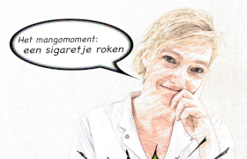 """Blog verpleegkundige """"Het mangomoment: een sigaretje roken"""""""